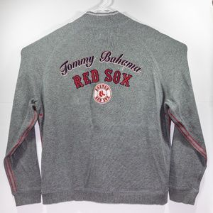 Tommy Bahama Boston Red Sox Quarter Zip Sweater XL